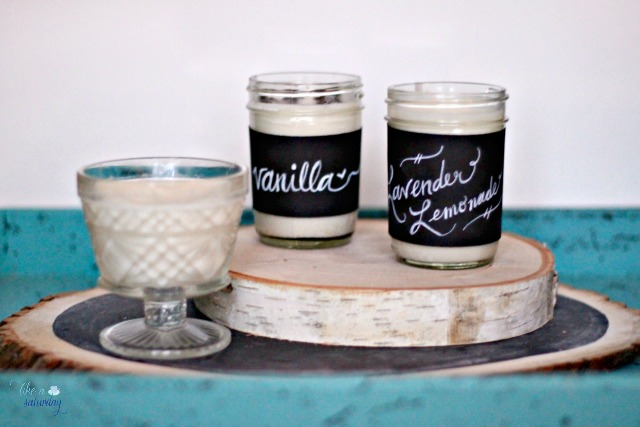 Diy homemade candles