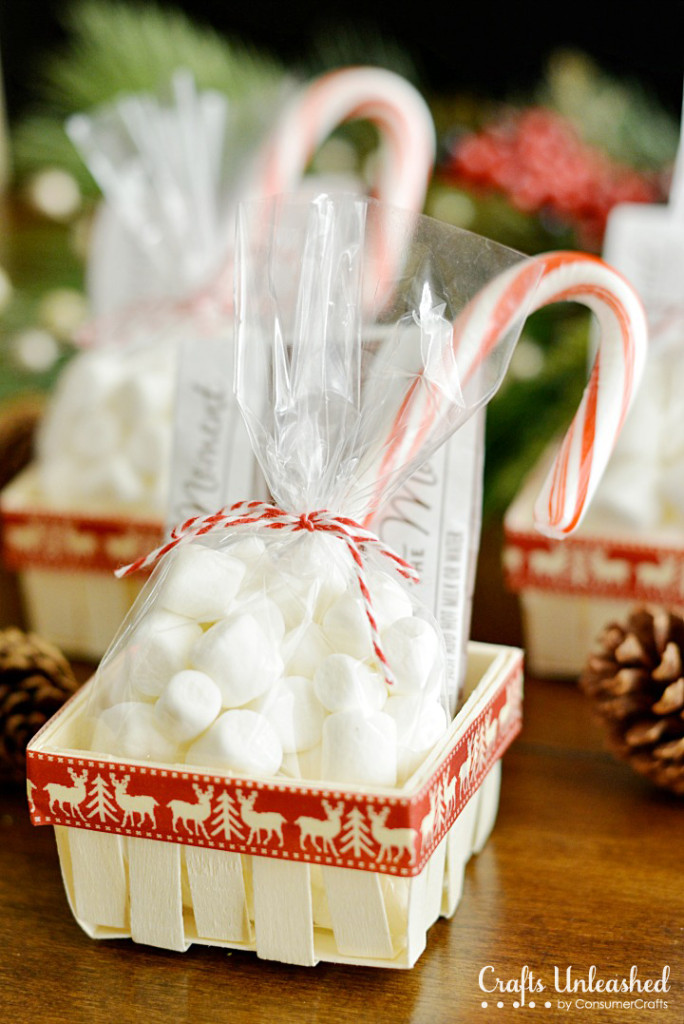 Diy hot chocolate gift baskets