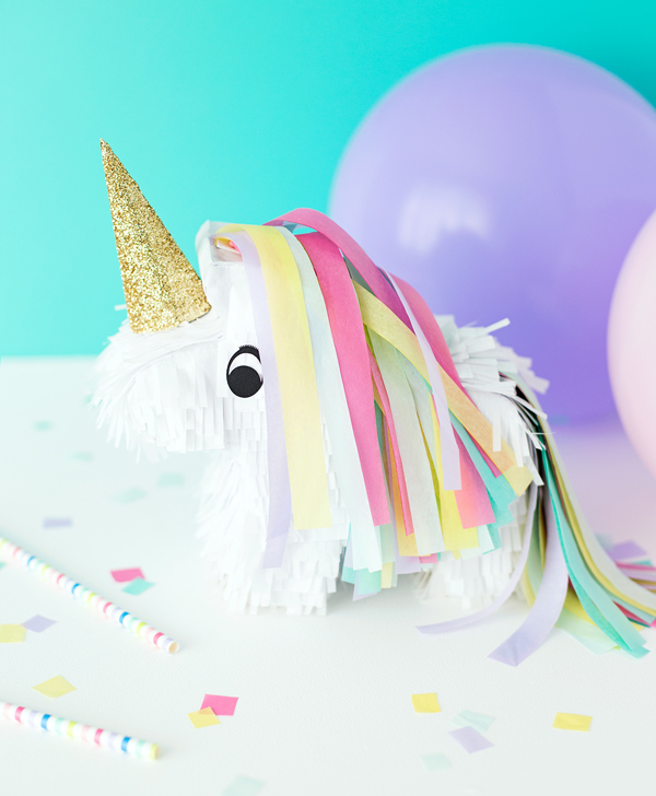 Diy mini unicorn pinatas