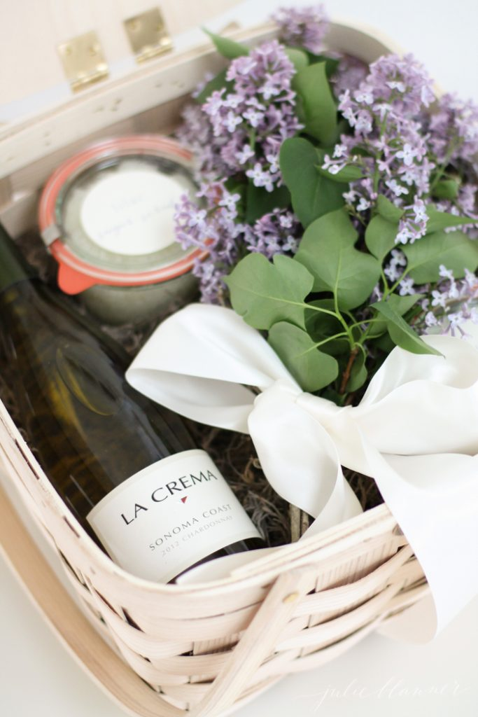 Diy mothers day gift basket