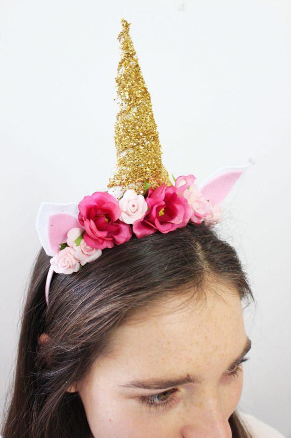 Diy unicorn horn headband