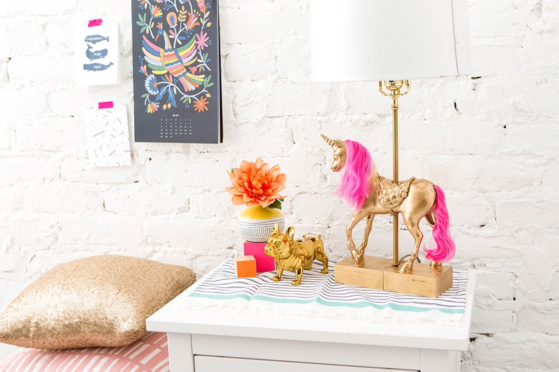 Diy unicorn lamp