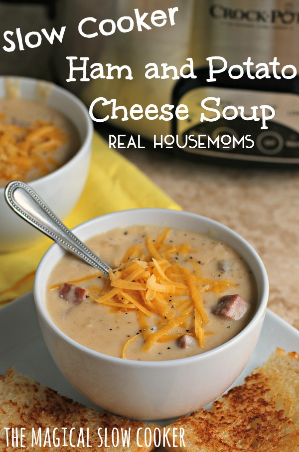Ham and potato cheese soup recipe