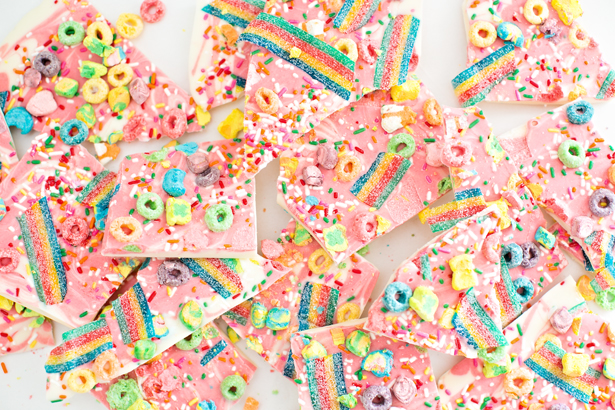 Rainbow unicorn bark