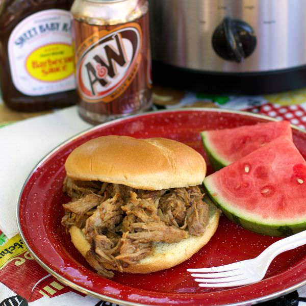 Root beer pulled pork recipe