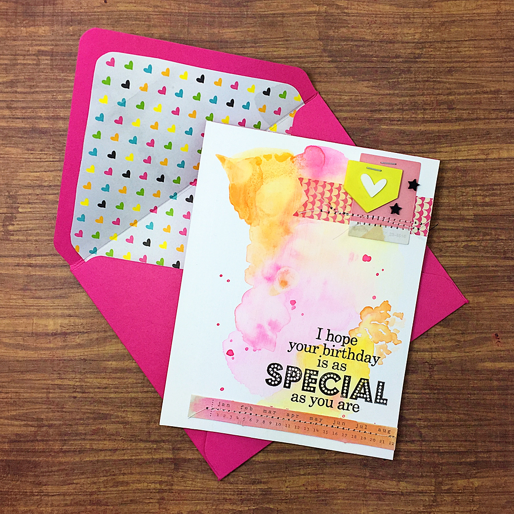 48 Splash Of Watercolor Birthday Card Diy