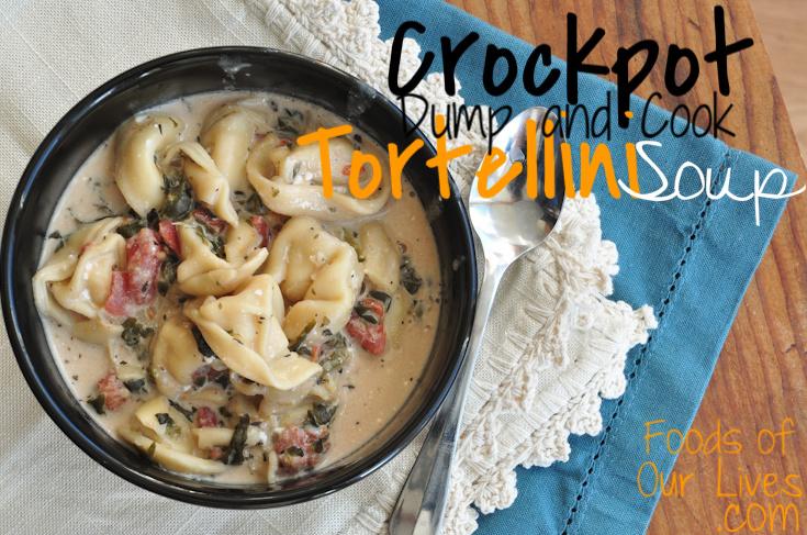 Tortellini dump soup recipe