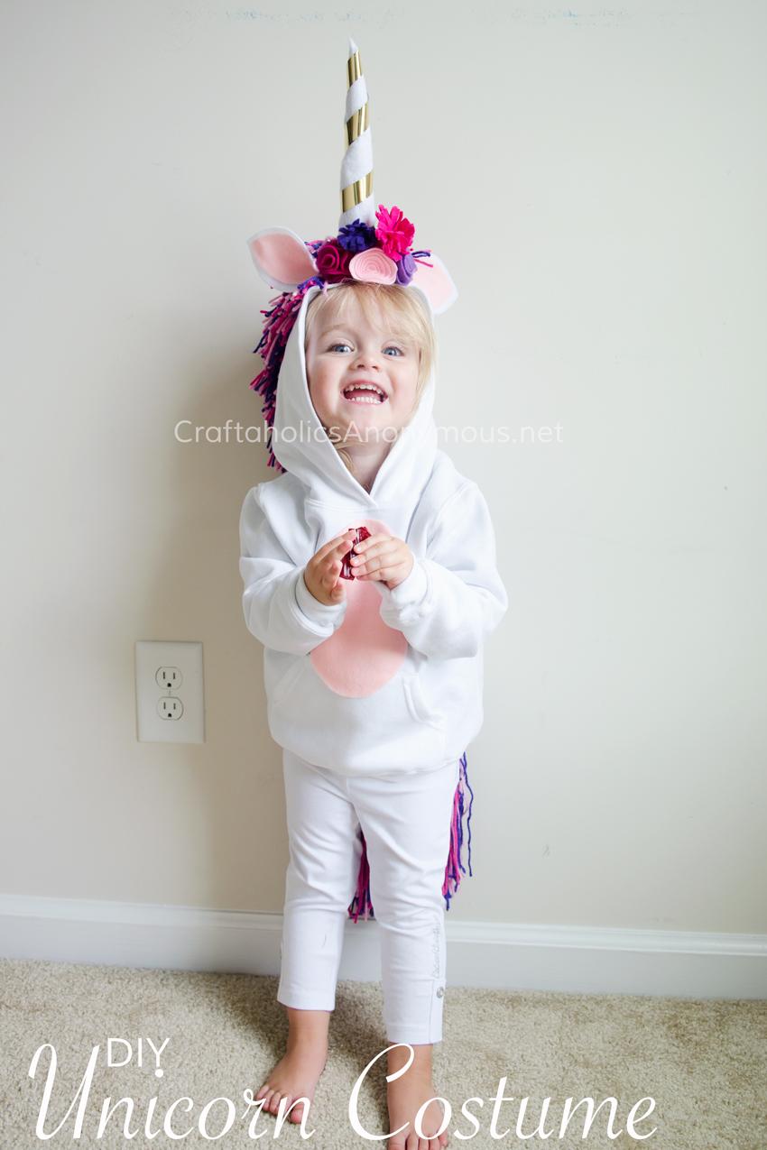 Unicorn costume for kids