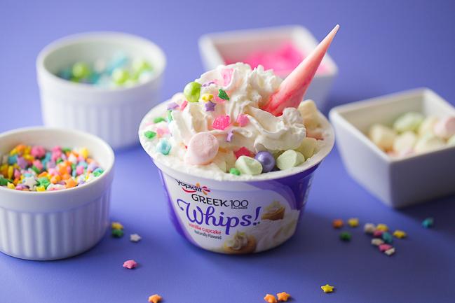 Yoplait unicorn yogurt