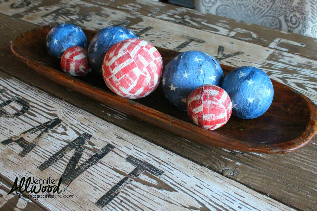 4th of july table decor dea