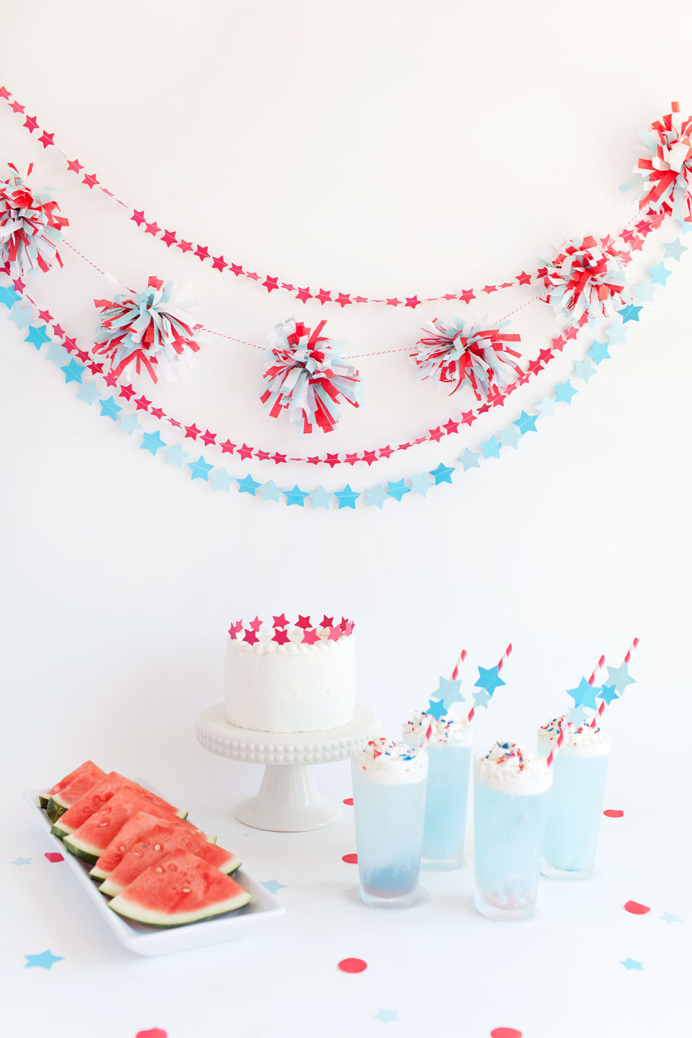 4th of july party garland