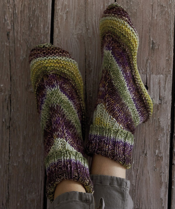 Alaska colour home slipper socks