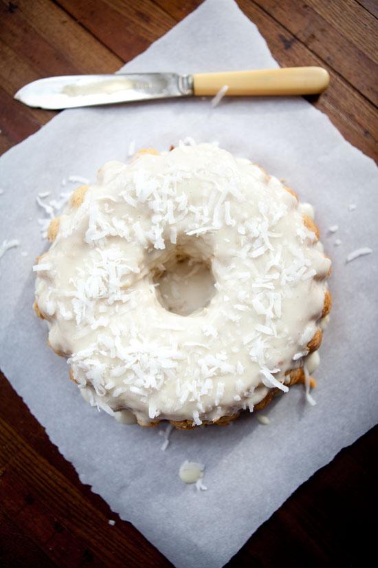 Coconut flour paleo cake
