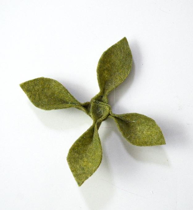Diy felt succulent will live forever flower