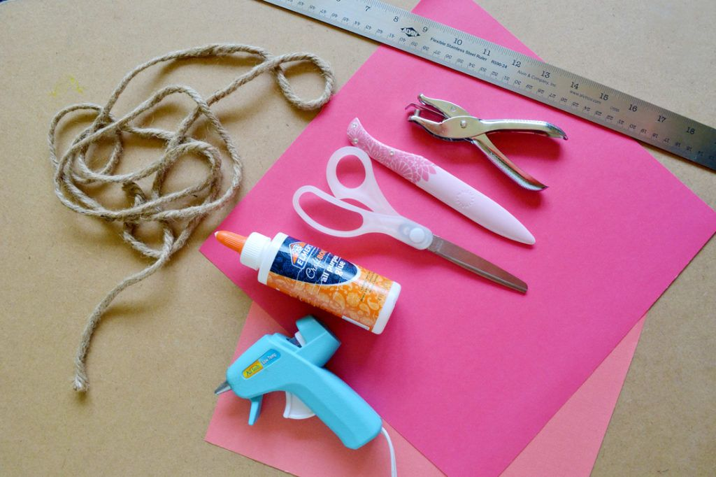 Diy scrapbook paper gift bags materials