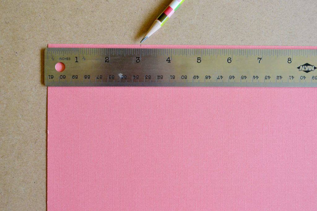 Diy scrapbook paper gift bags measure