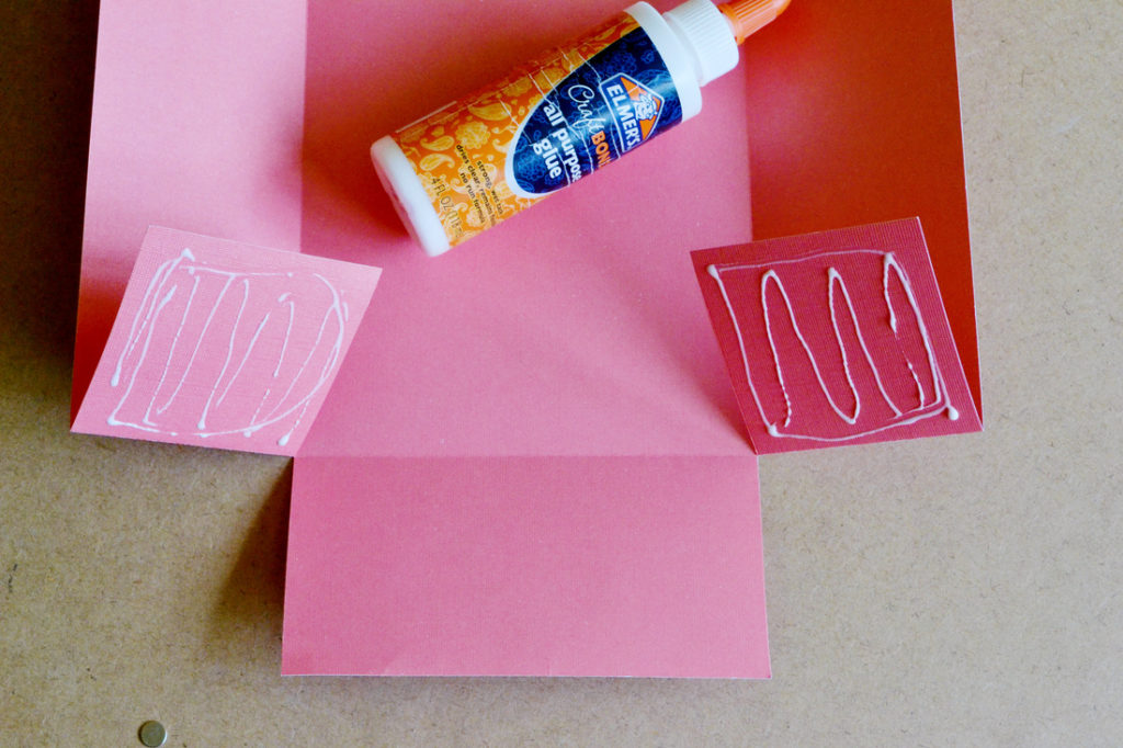 Diy scrapbook paper gift bags glue