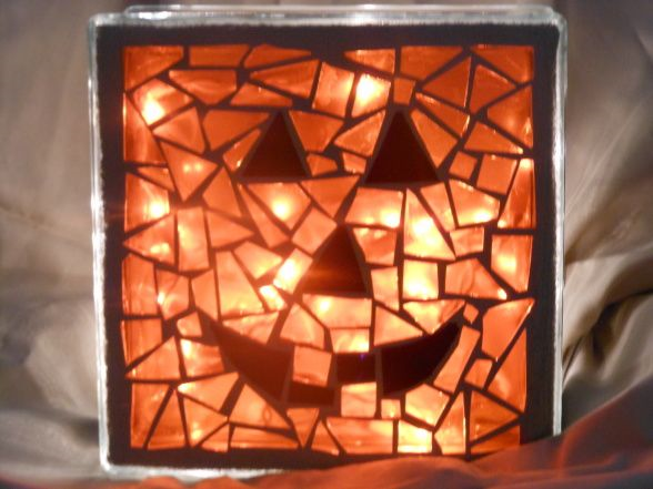 Jack o lantern night light