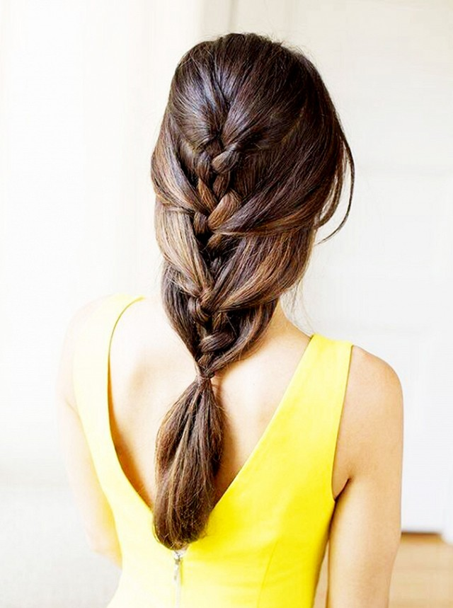 Layered french braids