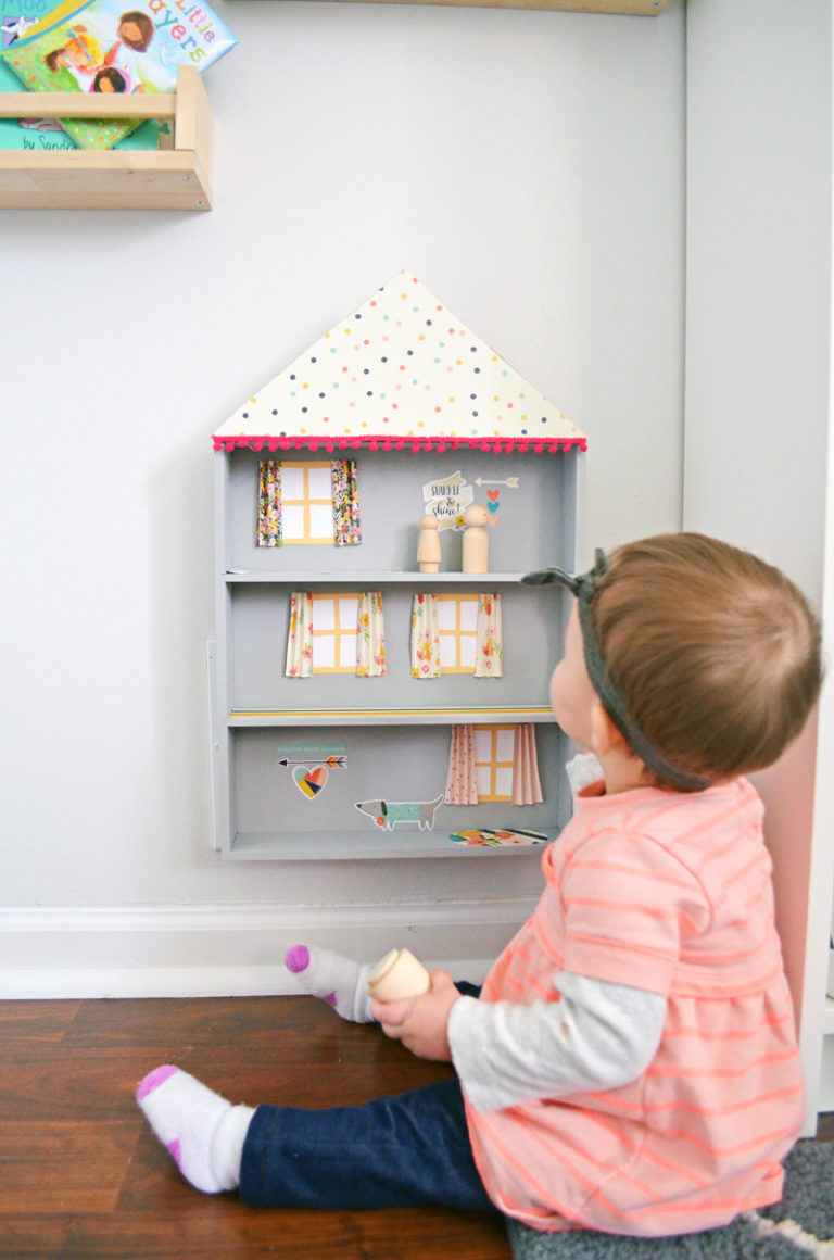 Make your own diy drawer dollhouse project