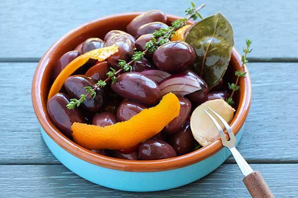 Marinated olives recipes