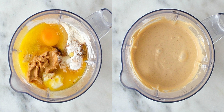 Pb&j waffles step 1