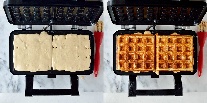 Pb&j waffles step 2