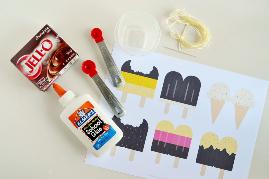 Scratch n' sniff bookmarks supplies