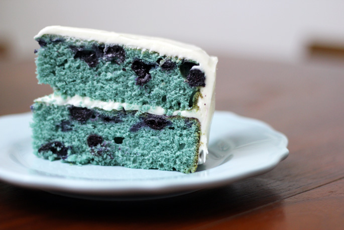 Blueberry velvet cake recipe