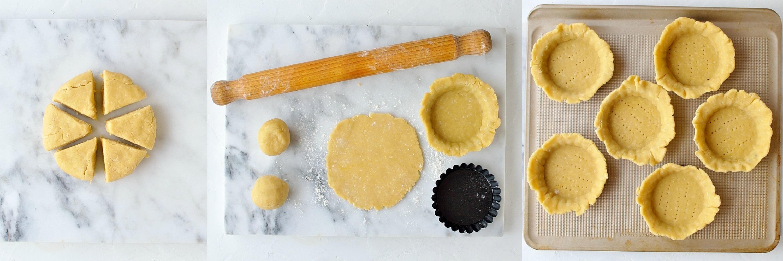 Coconut fruit tarts step 3
