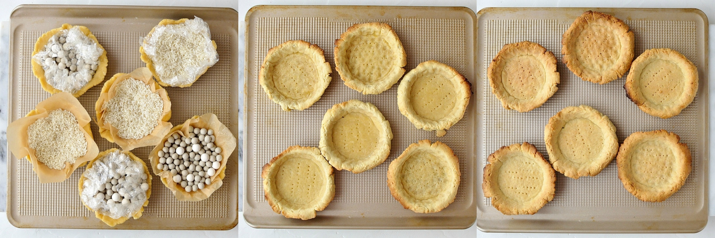 Coconut fruit tarts step 4