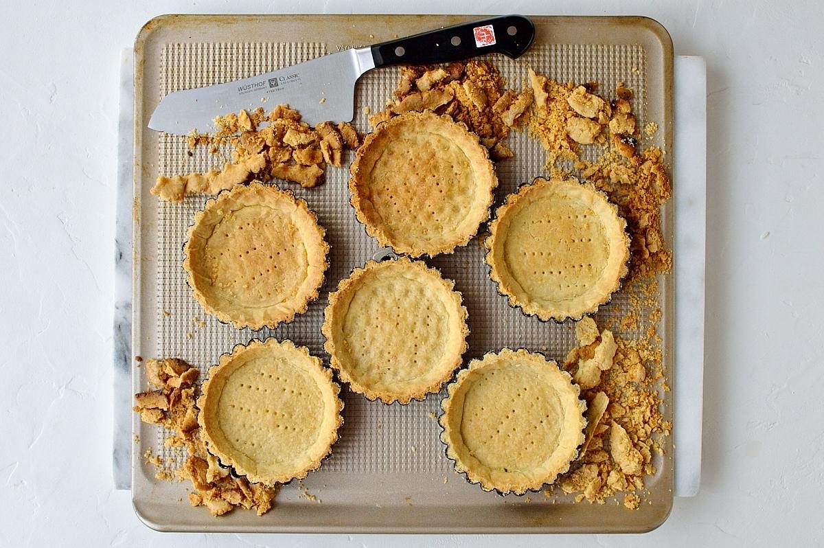 Coconut fruit tarts step 5