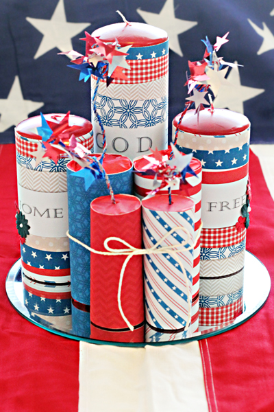 Diy fourth of july firecrackers
