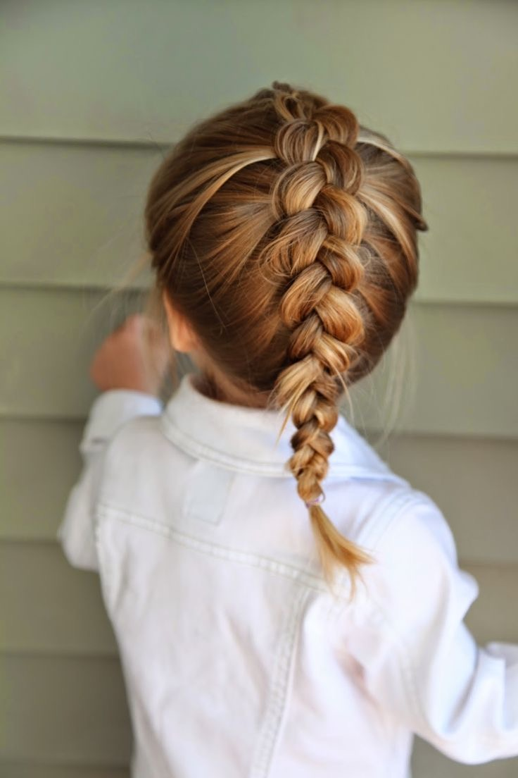 Dutch braid for kids