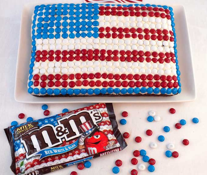 Mm flag cake recipe