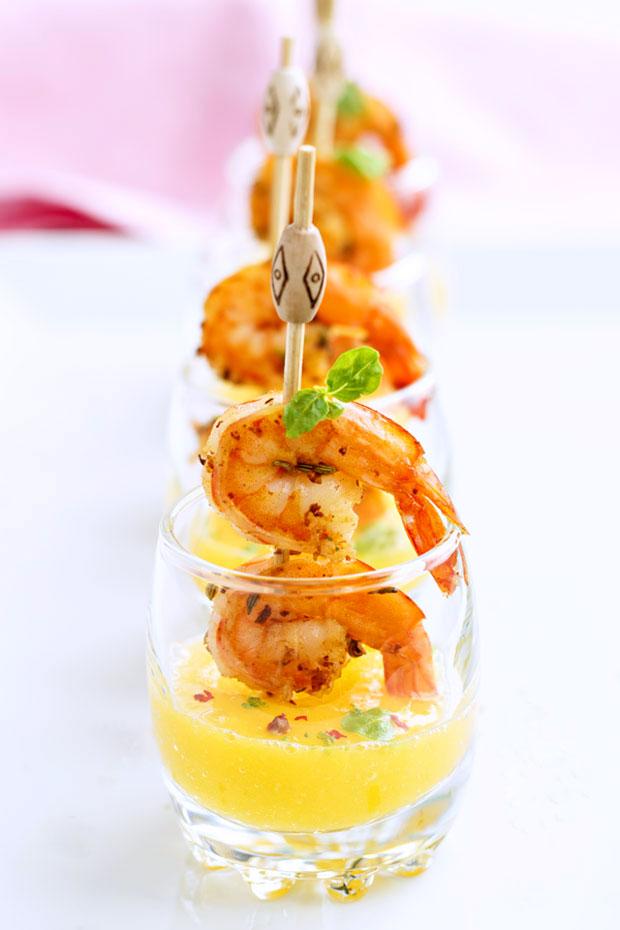 Shrimp tapas shooters recipes