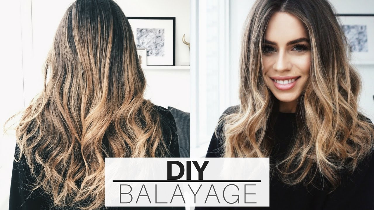 $20 at home hair balayage yair