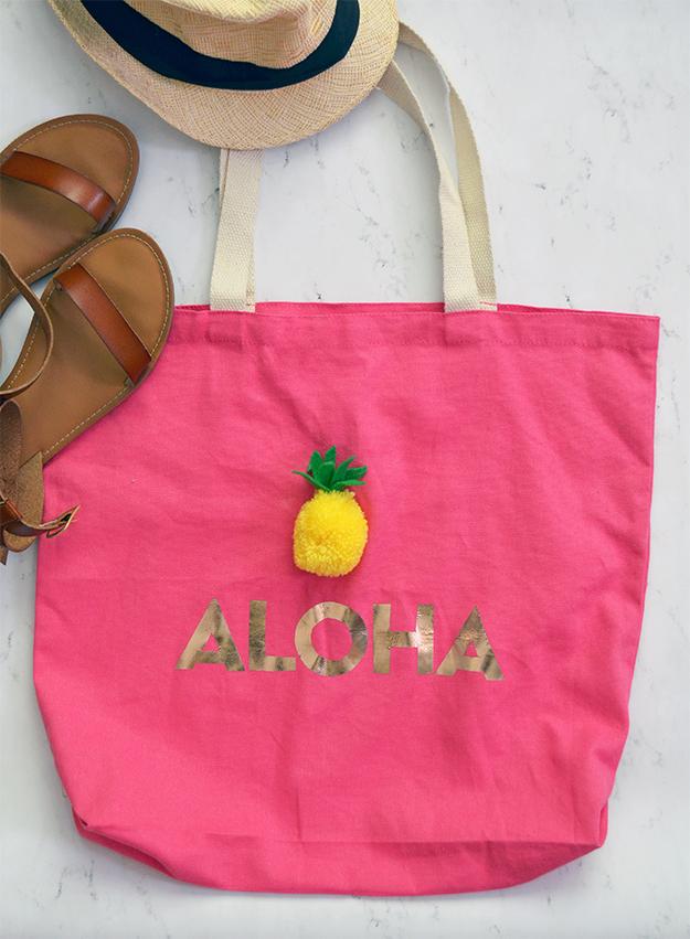 Aloha tote bag carryall