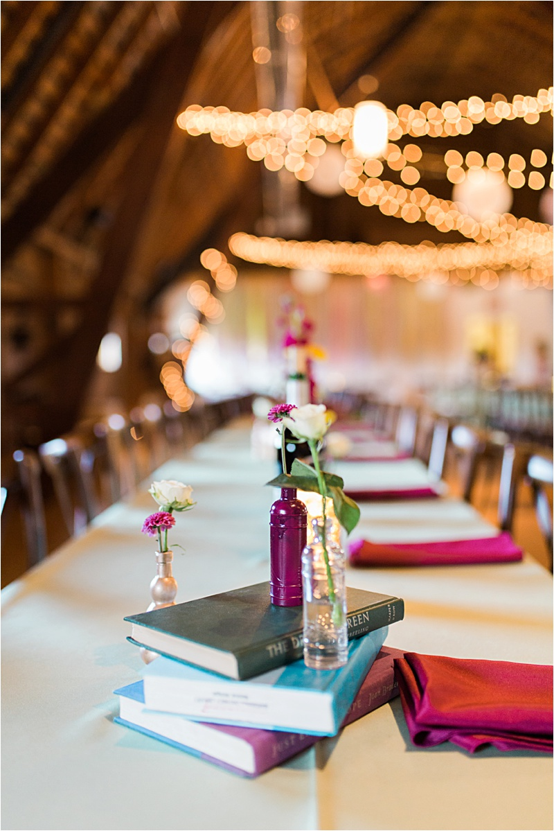 Book wedding centerpiece diy
