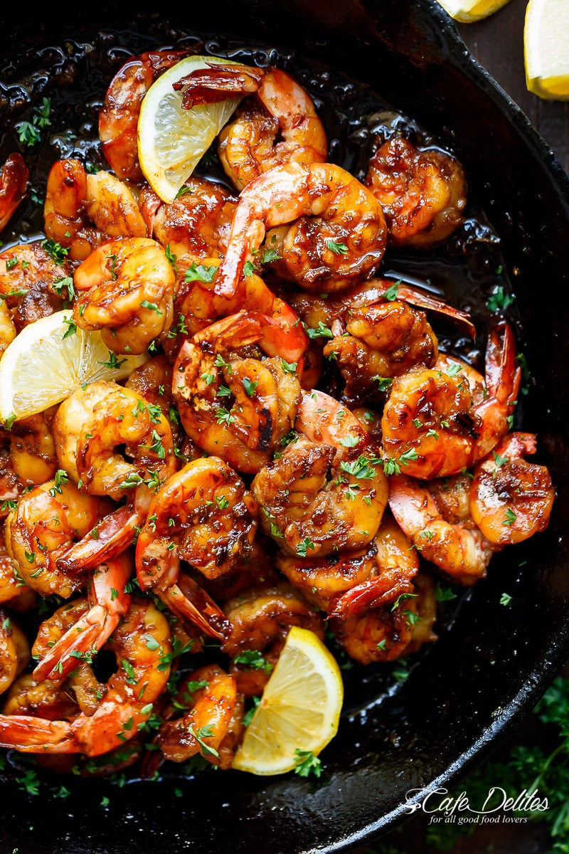 Browned butter honey garlic shrimp image 222