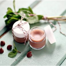 Chocolate rose lip balm