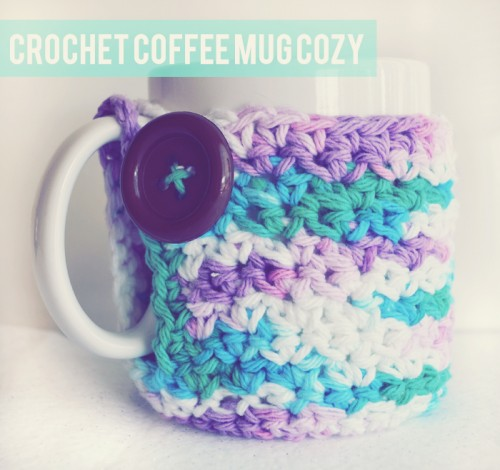 Cool crochet mug cozy
