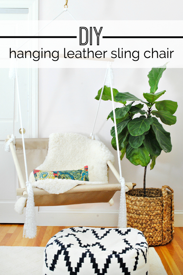 Diy hanging hammock sling chair