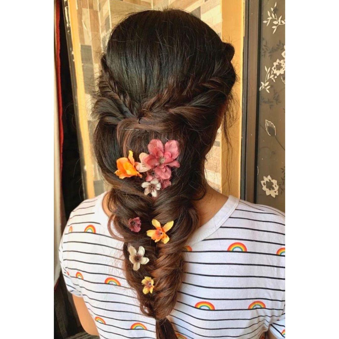 Flowery braid