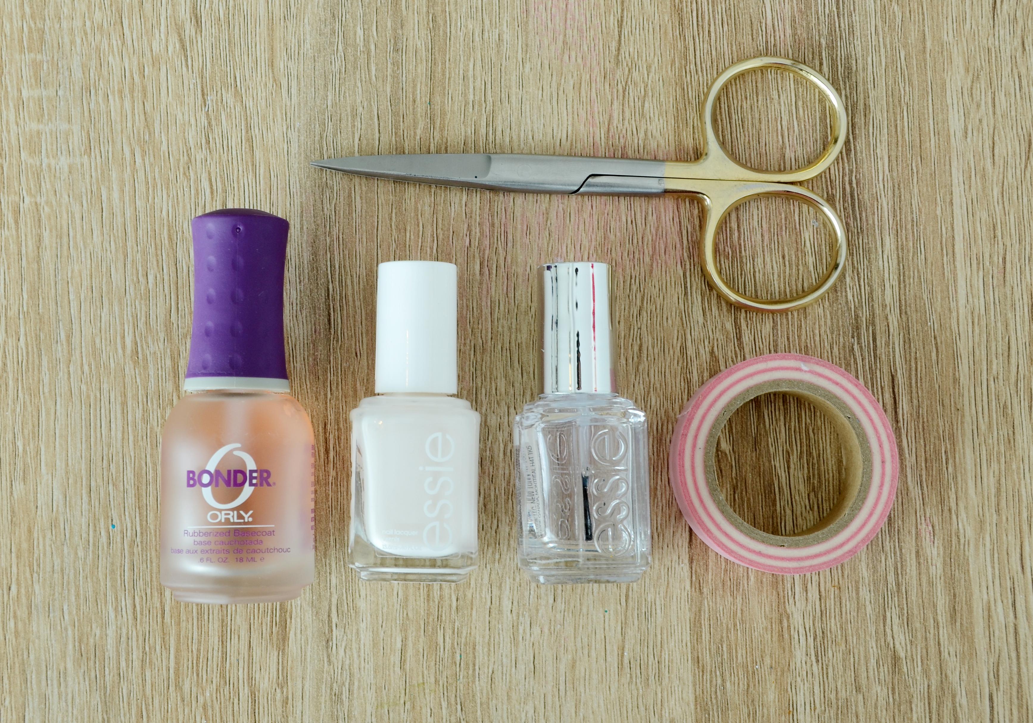 Geometric manicure 1