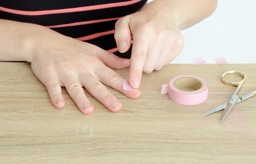 Geometric manicure 3