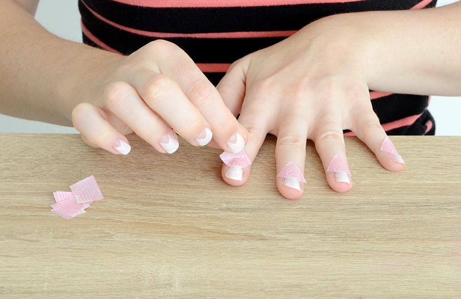 Geometric manicure 6