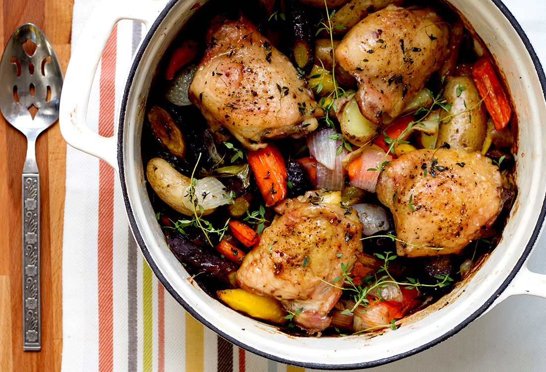Healthy recipe chicken vegetables slow cooker 3