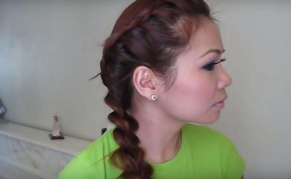 Hair tutorial trendy retro braids