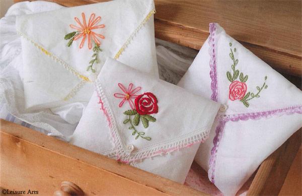 Handkerchief scent sachets
